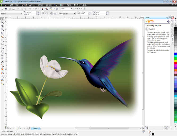 Portable coreldraw x5